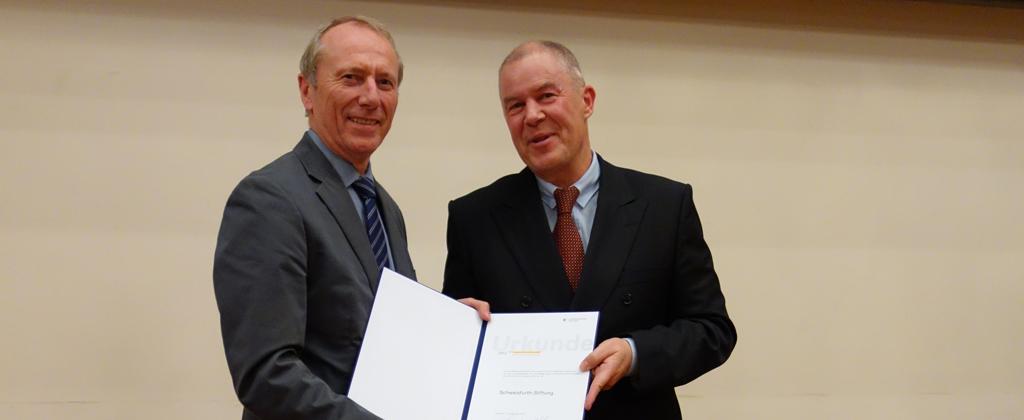 Schweisfurth Stiftung Auszeichnung Gottwald Monatzeder